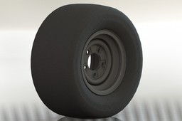WHEEL AND TIRE ASM, LAWN AND GARDEN, TURF