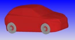 Car for external aero