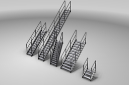 Stairs for Inventor