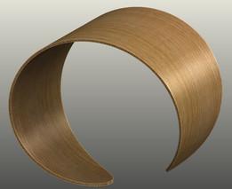 Oak veneer bracelet
