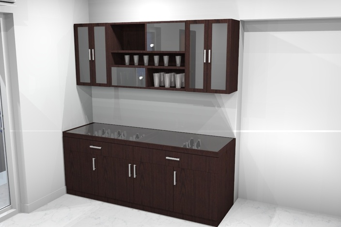 crockery unit - - 3D CAD model - GrabCAD