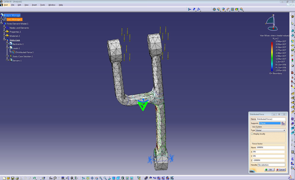 LANDING GEAR | 3D CAD Model Library | GrabCAD