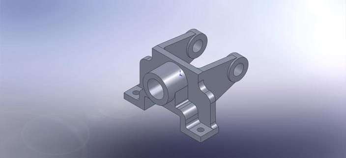Bevel gear support