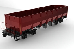 train (magic modeling from professional designer and modeling engineer)(1300 parts)