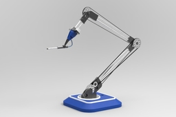 Simple Robotic Arm - Airbrush