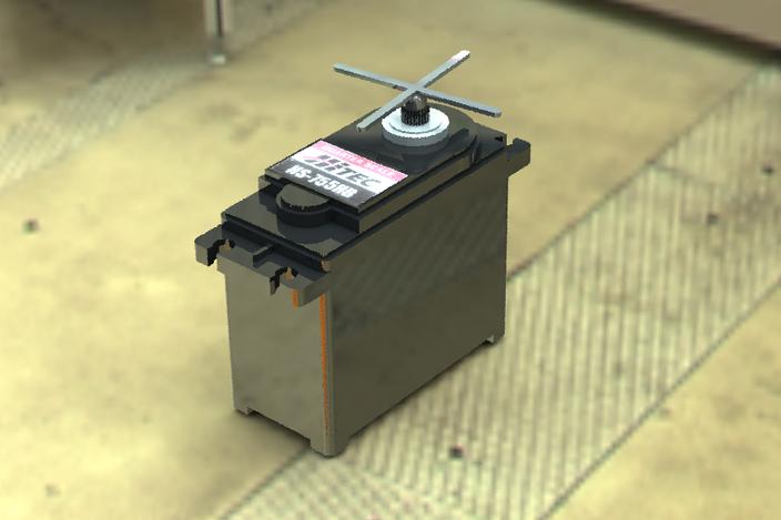 Servo motor solidworks 3d cad model grabcad for Industrial servo motor tutorial