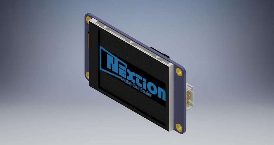 nextion - Recent models | 3D CAD Model Collection | GrabCAD
