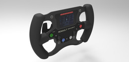 Formula Renault 2.0 steering wheel and quick release system