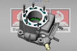 Honda NSR 125 JC20 Cylinder.