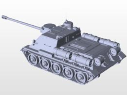 SU-100 122mm D-2-5S