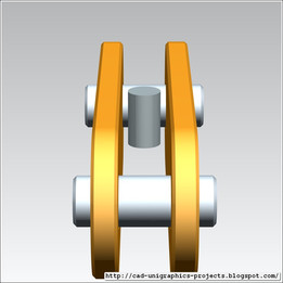 TOWER CRANE -Rear pendant counterjib conector-