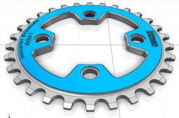 30-Tooth Chainring 74mm BCD