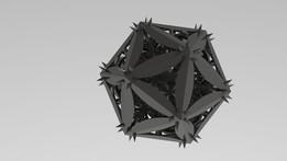 Icosahedral Mess