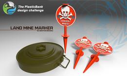 PlasticBank: Land Mine Marker
