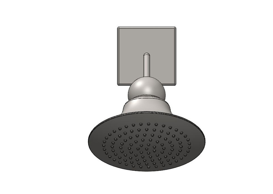 shower head design - SOLIDWORKS,STEP / IGES,STL - 3D CAD model ...