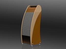 Curve-8 floor speaker
