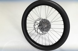 "20"" - 406mm bicycle wheel complete"