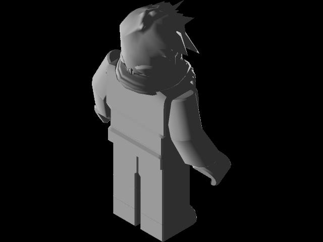 Napsus Roblox Character 3d Cad Model Library Grabcad