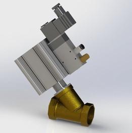 dn25 pneumatic valve