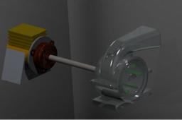 Motor Blower Assembly