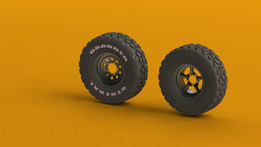 Off road wheels and tyre 265/75/16