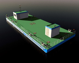 pontoon - Recent models | 3D CAD Model Collection | GrabCAD