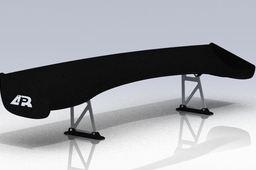 carbon fiber universal spoiler
