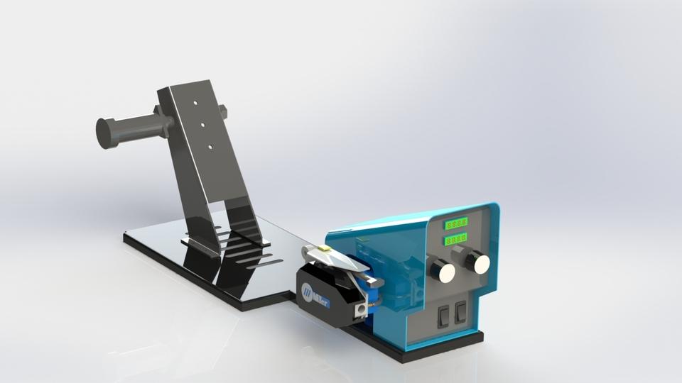Miller Wire Feeder | 3D CAD Model Library | GrabCAD
