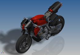 LEGO Technic - Motorbike (8051)