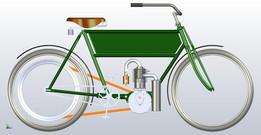 1906 Motor Bicycle