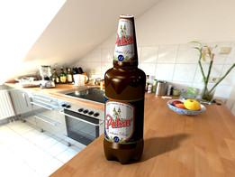 Beer bottle 1.5l.