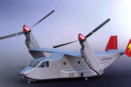Bell Boeing V-22 Osprey Helicopter