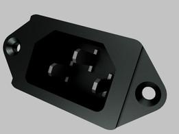 Plug AC Fêmea (Power Plug)