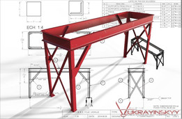 EVAPORATOR SUPPORT TABLE
