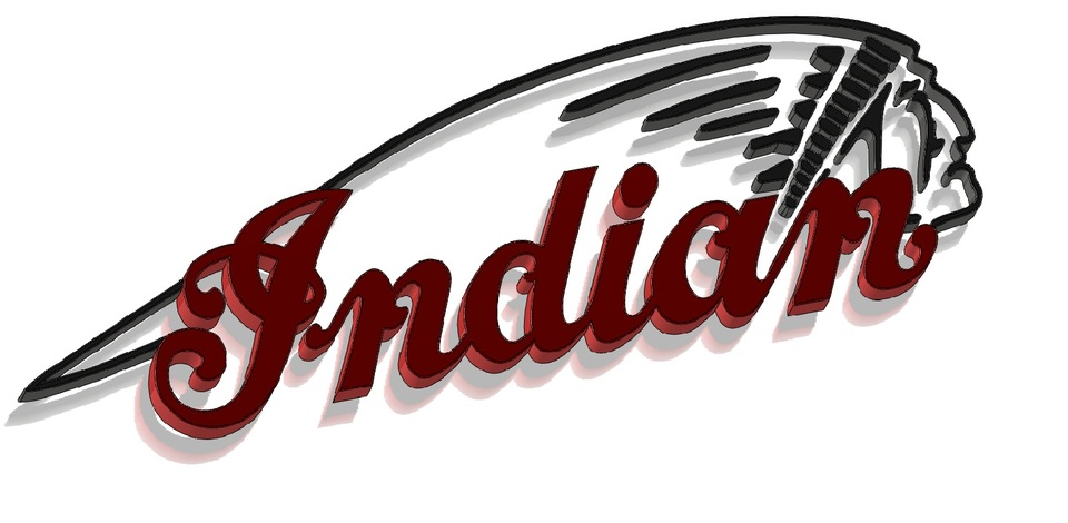 indian motorcycles 3d cad model library grabcad rh grabcad com indian motorcycle logo vector indian motorcycles logo images