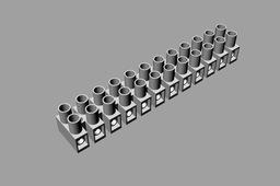 Nylon Terminal Blocks IP20 MAX 300V 2.5mm2