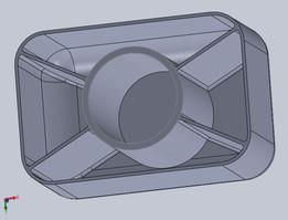 Final Model of a bottle cup