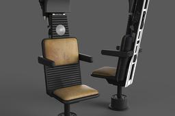 Millennium Falcon: Cockpit Nav Seat