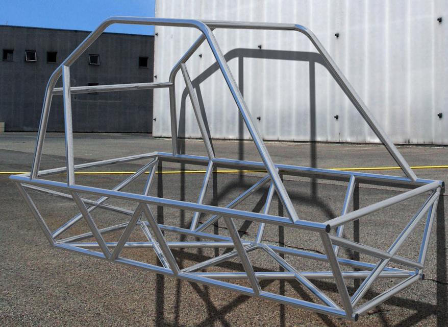 Space frame | 3D CAD Model Library | GrabCAD