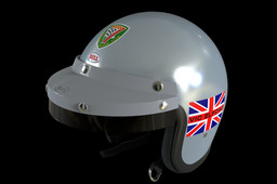 Vic Elford Open-Face Bell Helmet