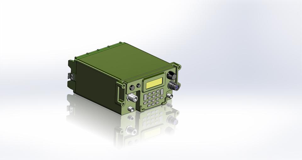AN/PRC-117G | 3D CAD Model Library | GrabCAD