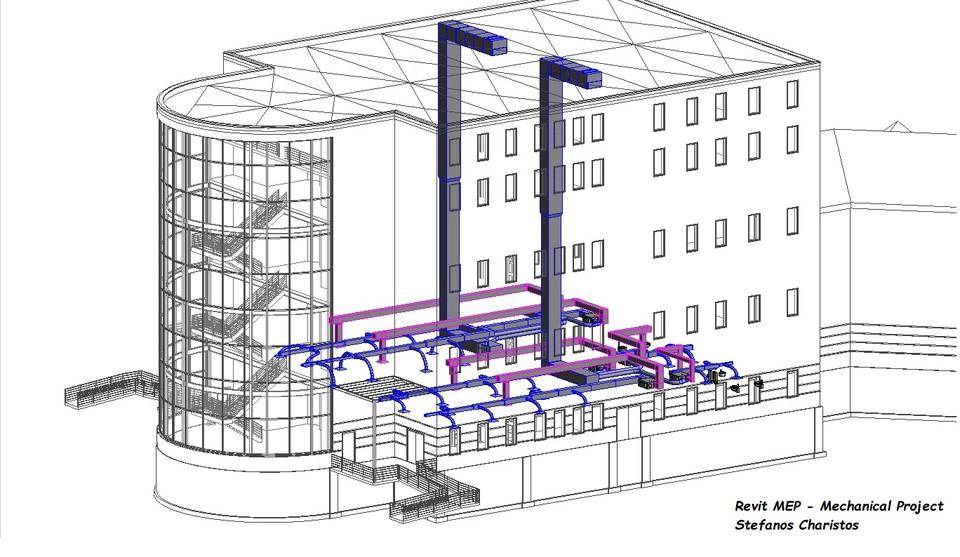 Revit MEP - Mechanical Project | 3D CAD Model Library | GrabCAD