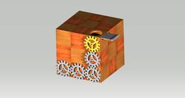 Compass Puzzle Kiub Concept 1
