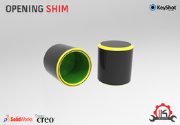 Motor Cycle Engine Internal Setup - Opening Shim