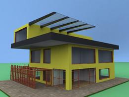 my fisrt house proje