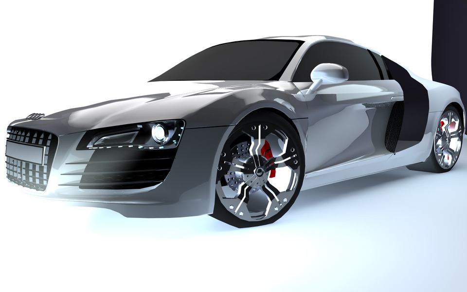 Audi R8 Blueprint | 3D CAD Model Library | GrabCAD