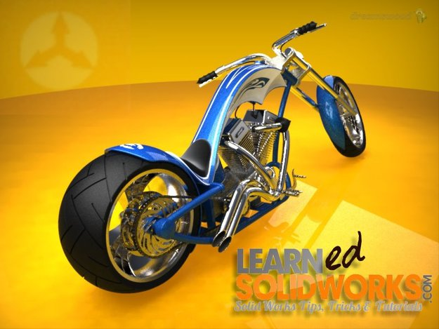 chopper de LearnSolidworks