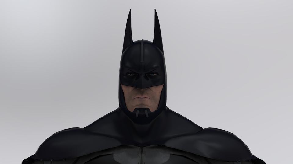 Batman   3D CAD Model Library   GrabCAD