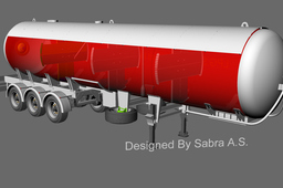 LPG Roadtanker as per ADR reg.