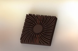 Small Radial Heat Sink